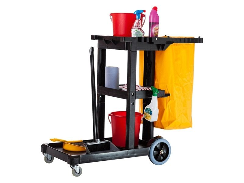 Economy Cleaning Cart