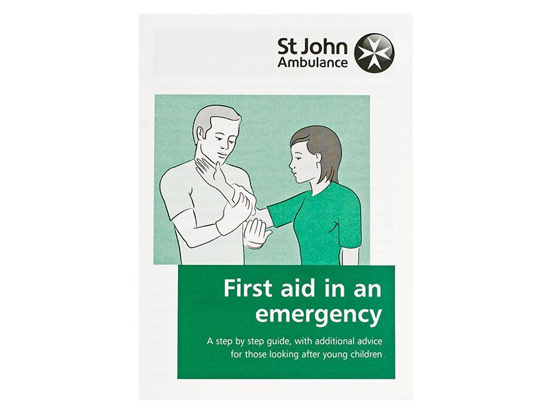 Emergency First Aid Booklet