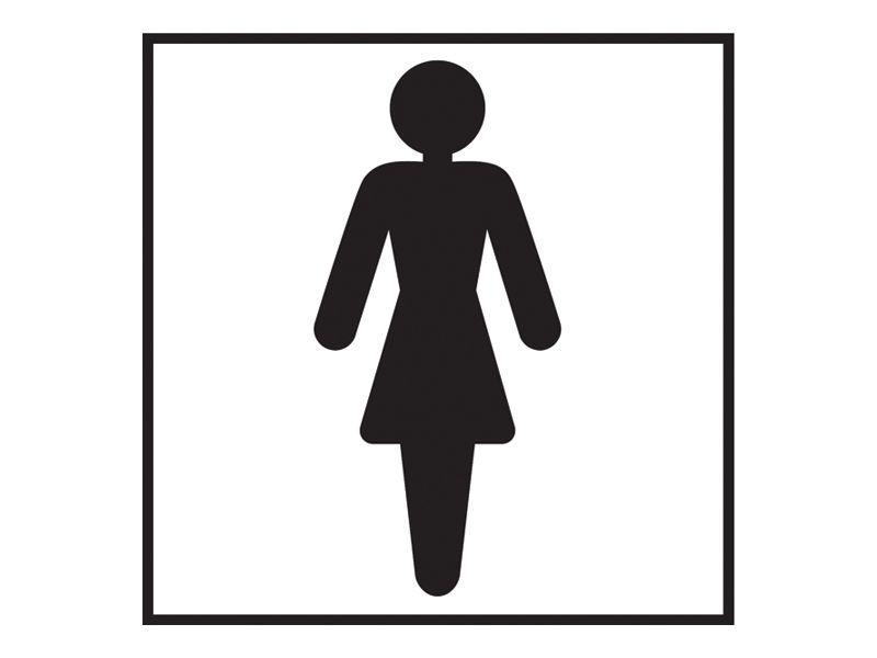 Female Washroom Sign