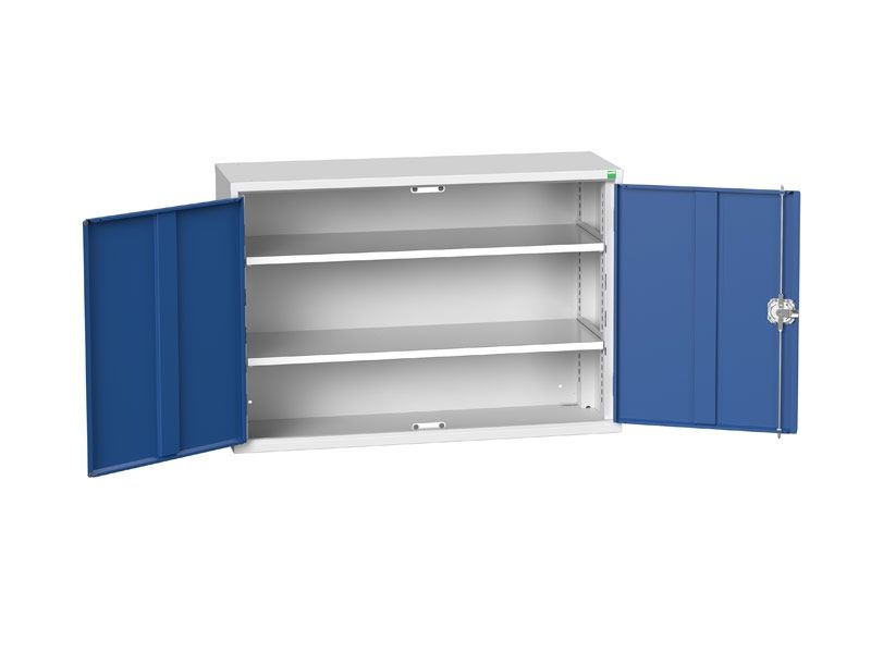 Freestanding Workshop Cupboard with 2 Shelves (800 x 1050 x 350)