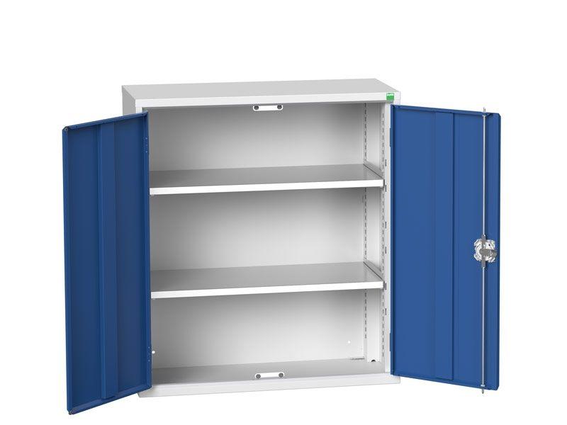 Freestanding Workshop Cupboard with 2 Shelves (1000 x 800 x 350)