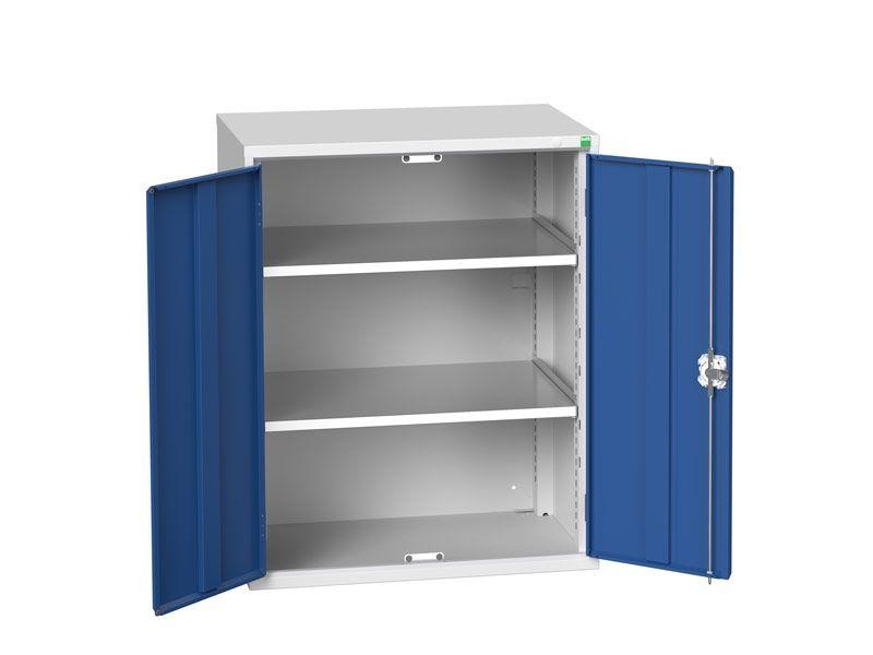 Freestanding Workshop Cupboard with 2 Shelves (1000 x 800 x 550)