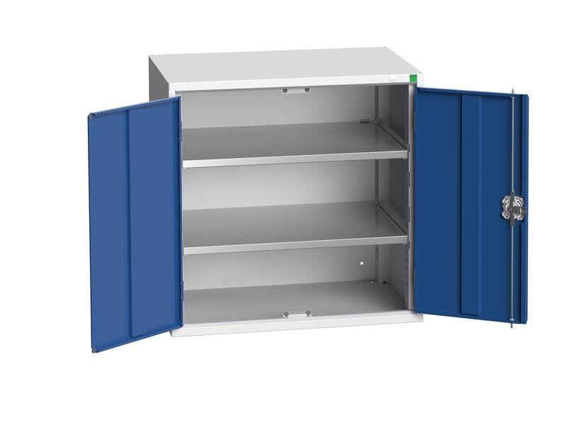 Freestanding Workshop Cupboard with 2 Shelves (800 x 800 x 550)