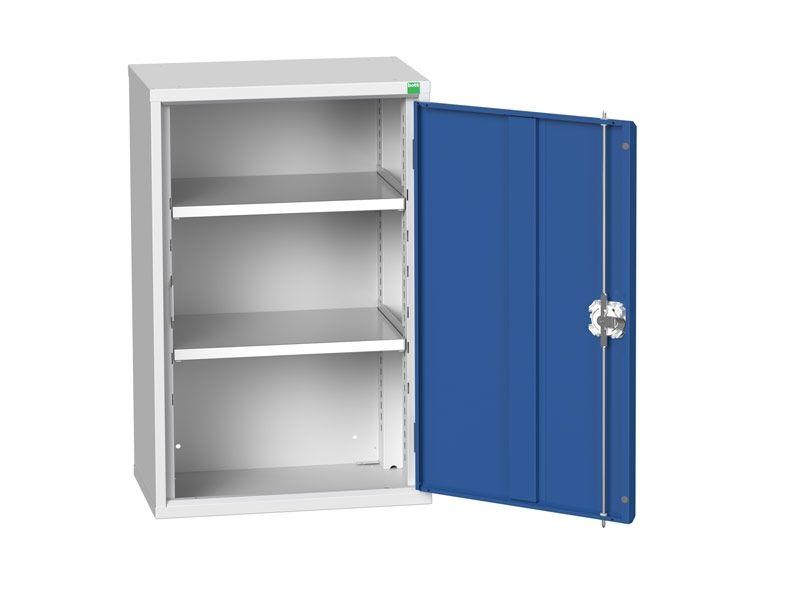 Freestanding Workshop Cupboard with 2 Shelves (900 x 525 x 350)