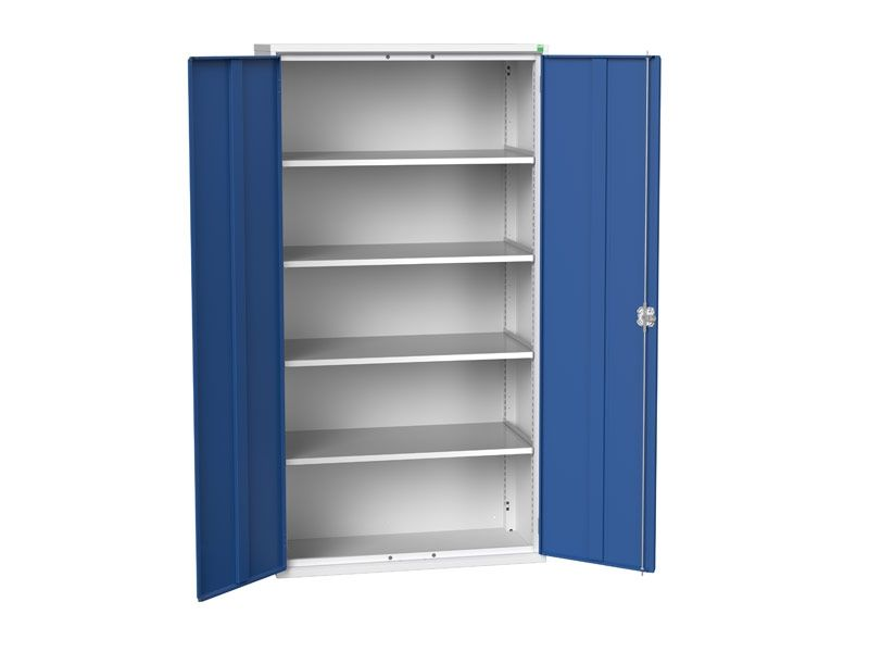 Freestanding Workshop Cupboard with 4 Shelves (2000 x 1050 x 550)