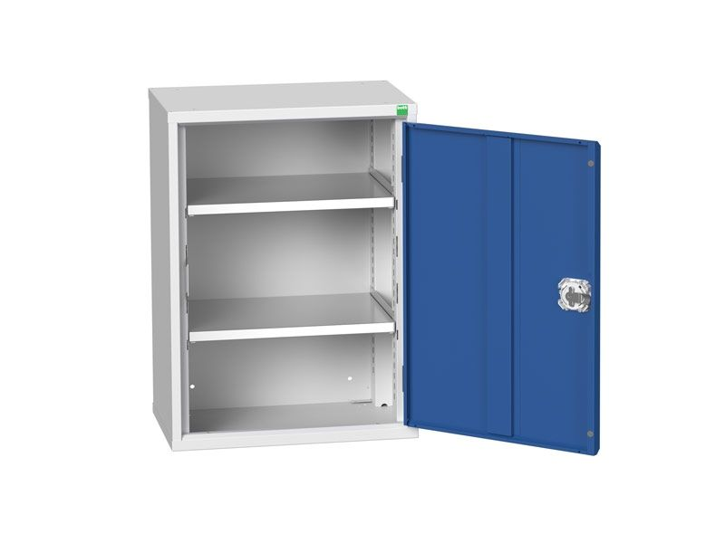 Freestanding Workshop Cupboard with 2 Shelves (800 x 525 x 350)
