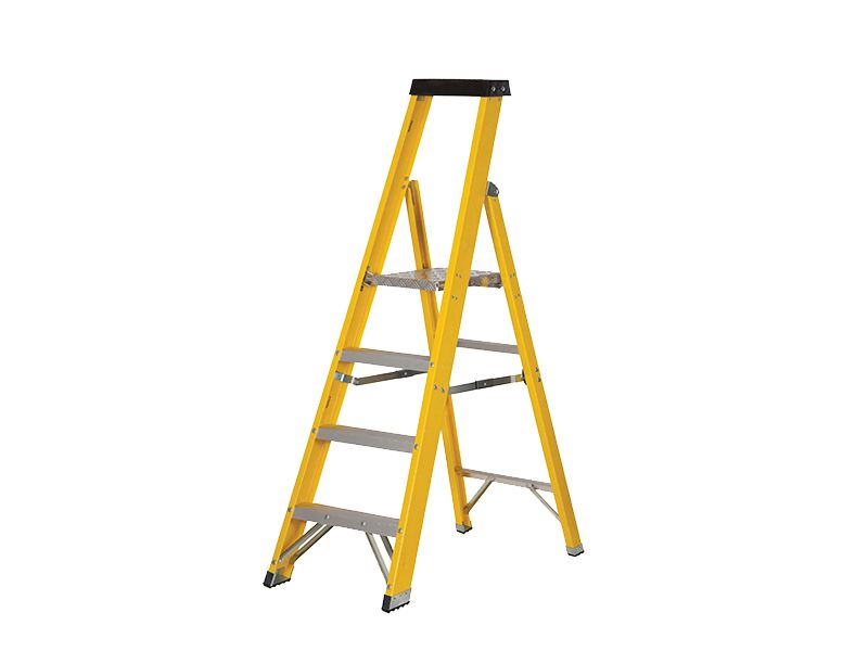 Fibreglass Platform Stepladder