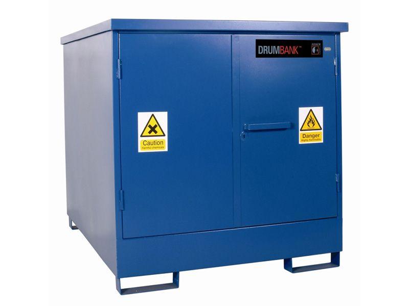 Hazardous Drum Storage