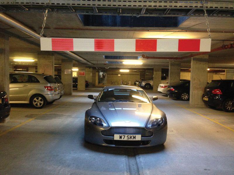 Car Park Height Restriction Bar