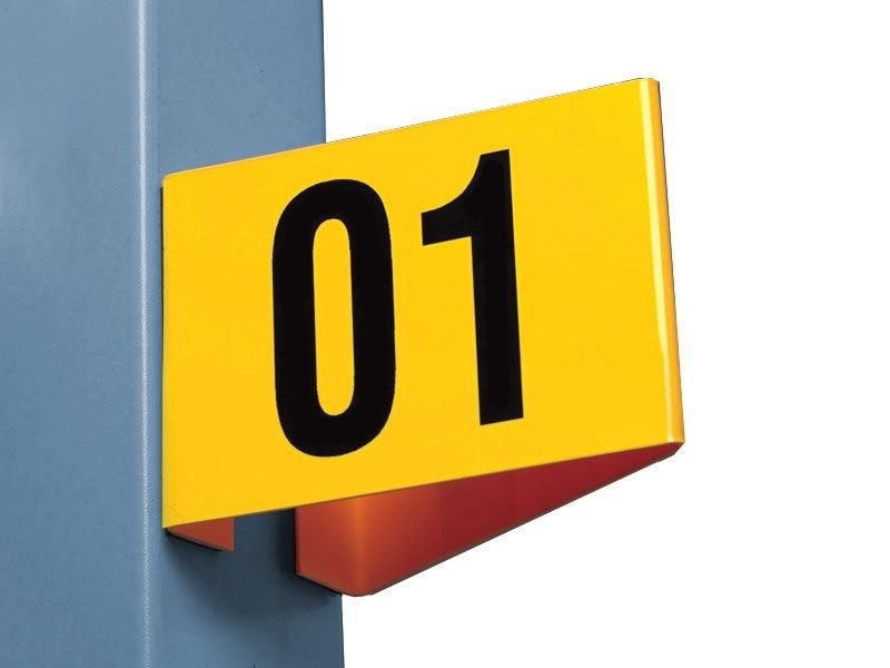 Magnetic & Self-Adhesive Aisle Markers