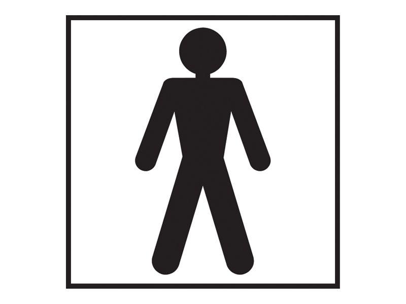Male Washroom Sign