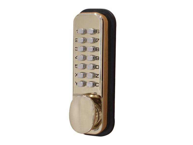 Brass Mechanical Digital Door Lock