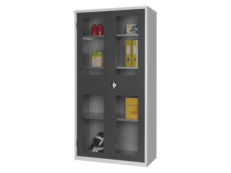 Mesh Storage Cabinet