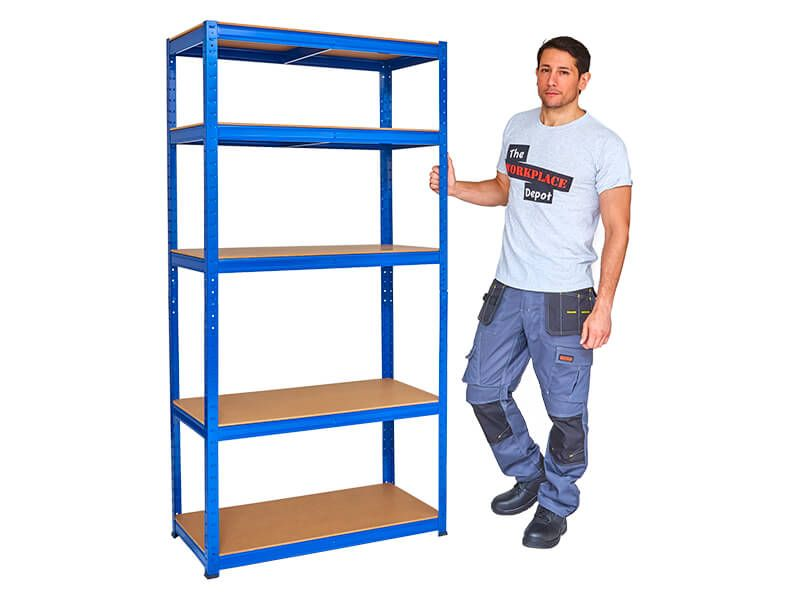 Metal Garage Shelves
