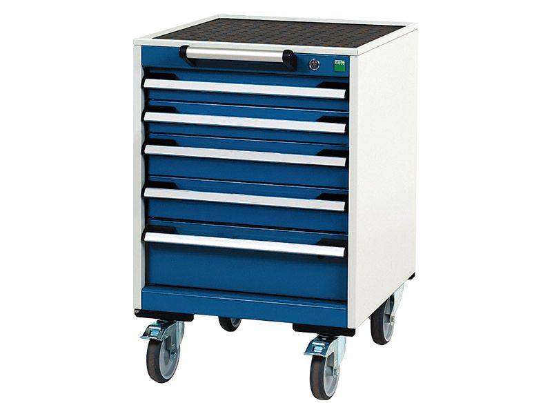 Mobile 5 Drawer 525mm Wide Cabinet