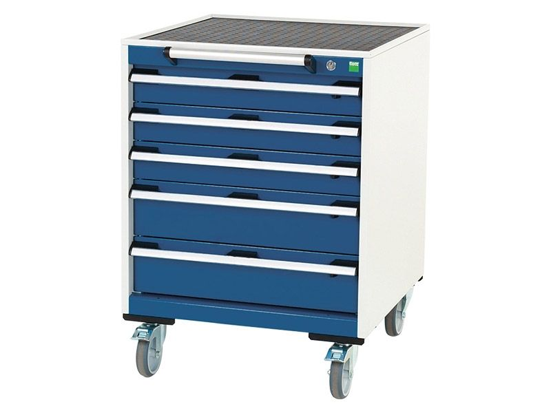 Mobile 5 Drawer 650mm Wide Cabinet