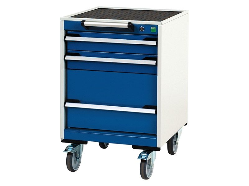 Mobile 3 Drawer 525mm Wide Cabinet
