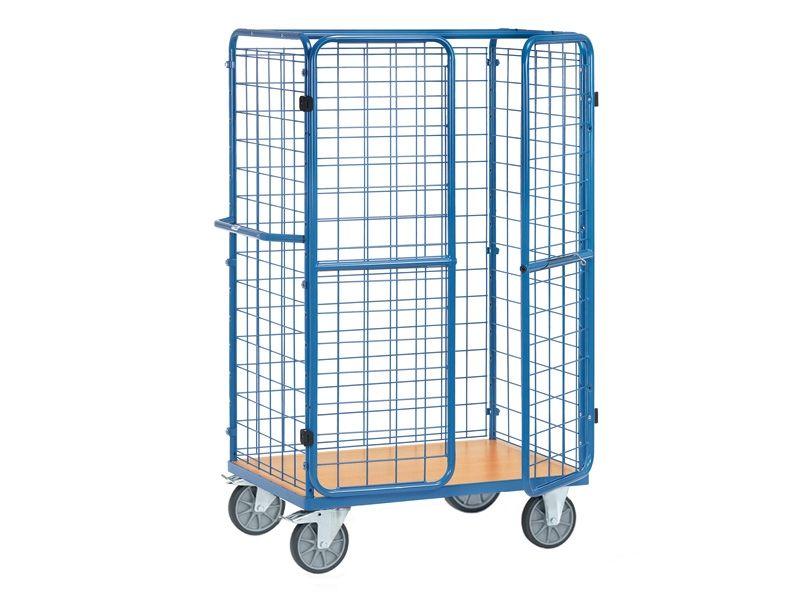 Parcel Cart With Doors 1800mm