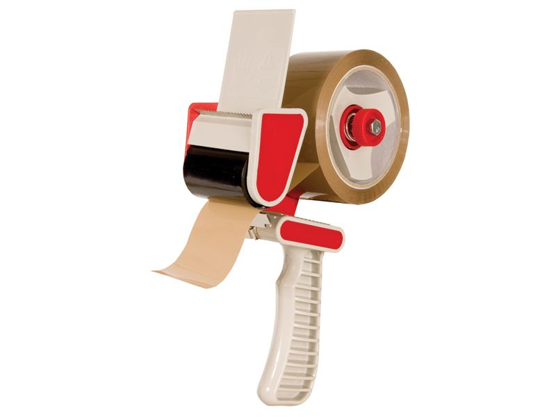 Pistol Grip Braked Tape Dispenser