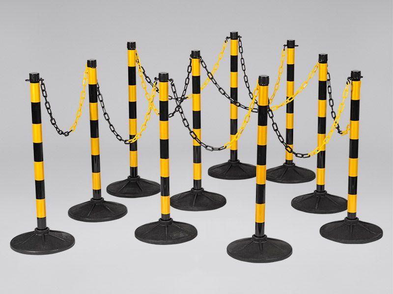 Plastic Chain Post Set