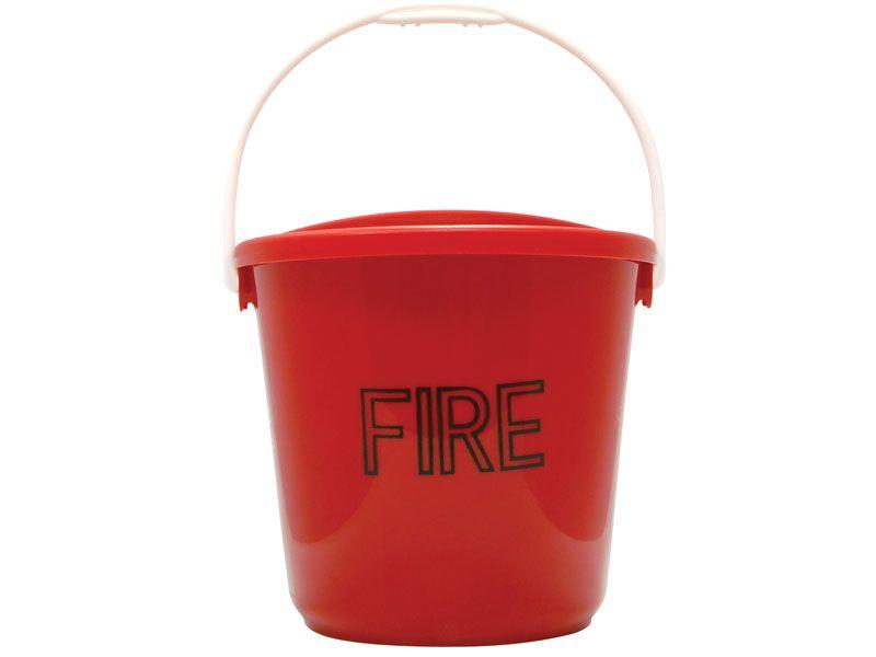 Plastic Fire Bucket