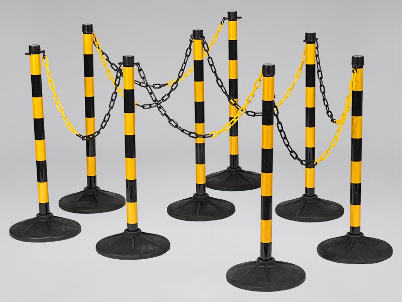 Plastic Posts and Chains