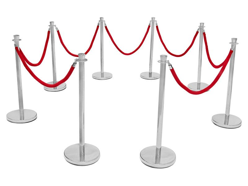 Red Carpet Rope Barriers
