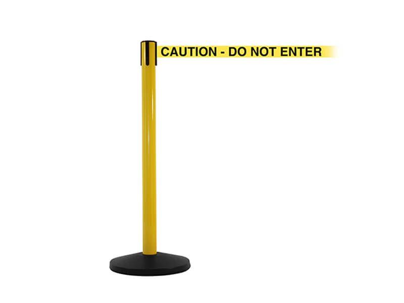 Retractable Caution Barrier