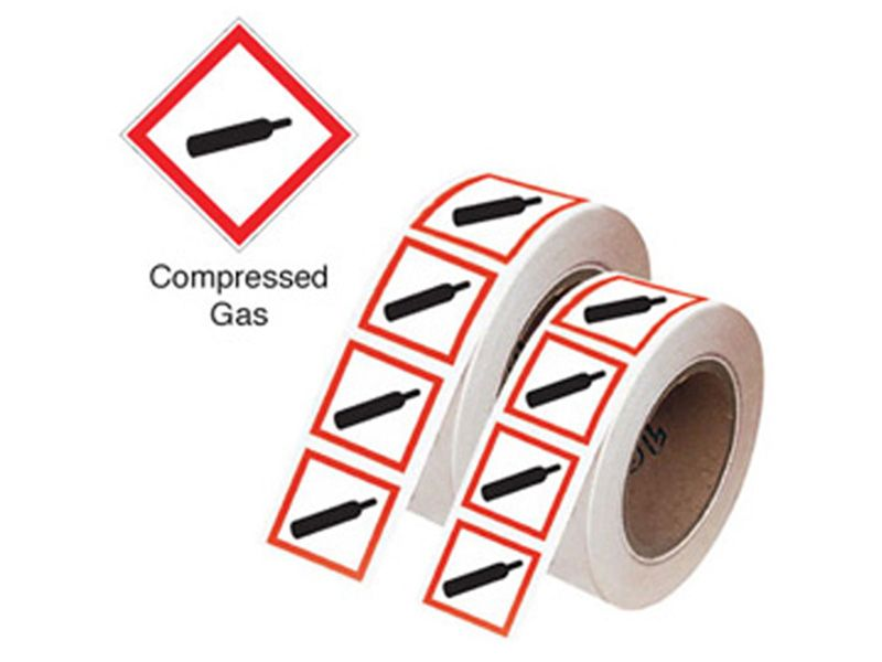 Roll of GHS Labels