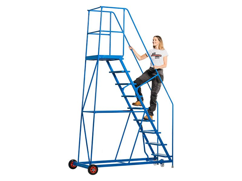 Rolling Warehouse Stairs