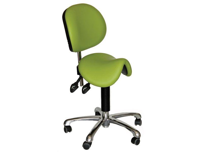 Saddle Seat With Backrest
