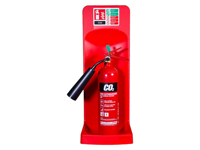 Single Extinguisher Stand