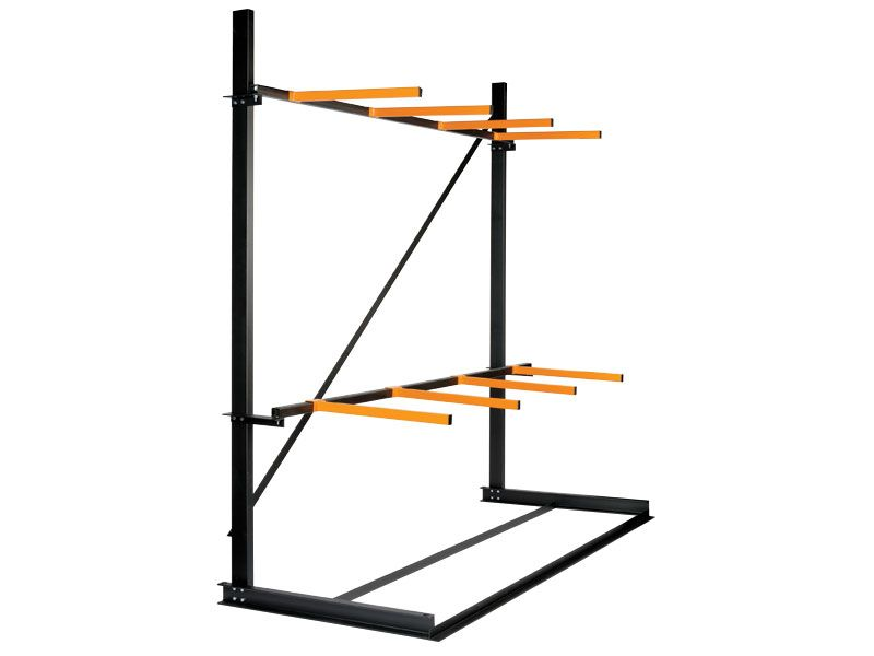 Single Vertical Storage Racking