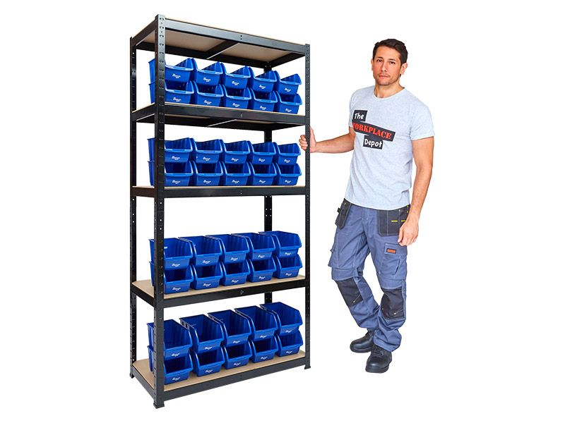 Small Parts Shelving