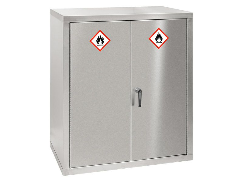 Stainless Steel COSHH Cupboard