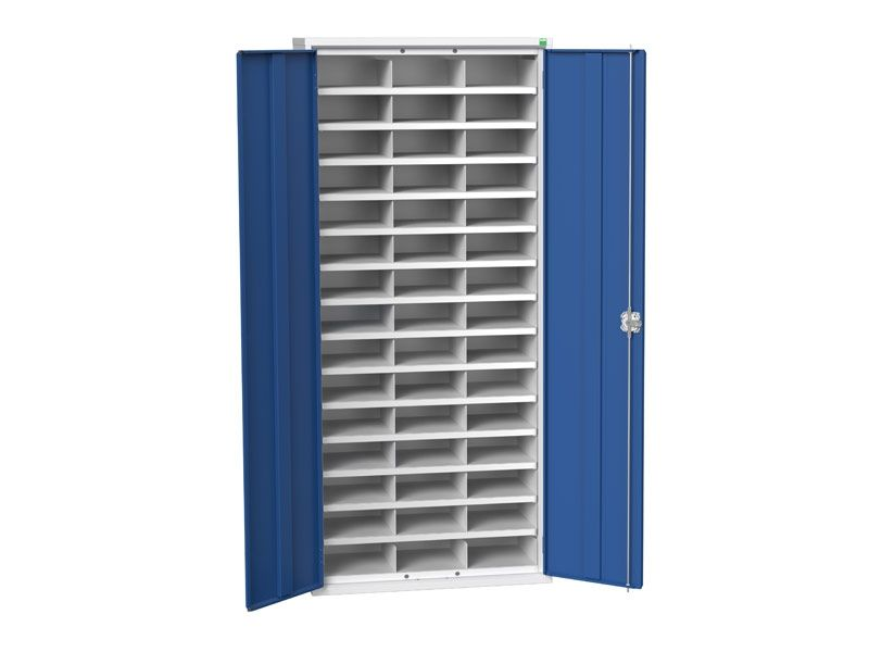 Steel Cupboard with 45 Compartments