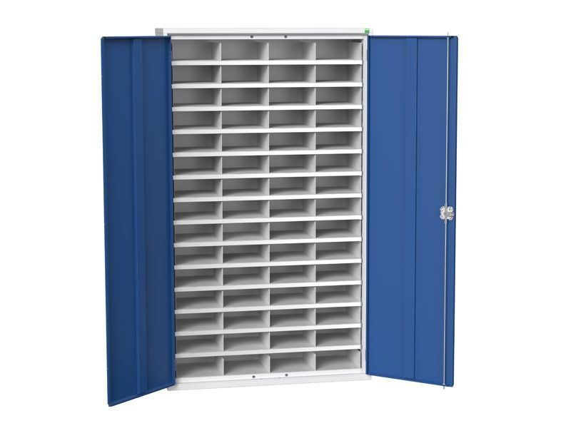 Steel Cupboard with 60 Compartments