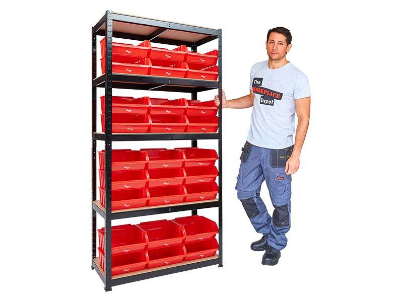 Storage Bin Shelves