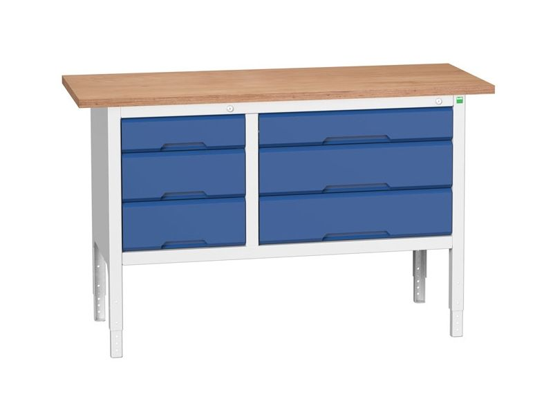 Wooden Workbench Table