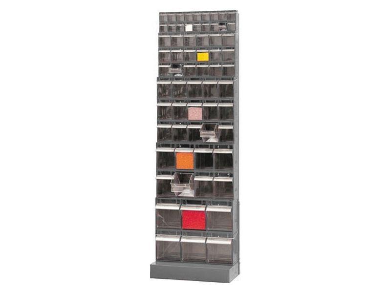 Tilt Box Empty Storage Rack