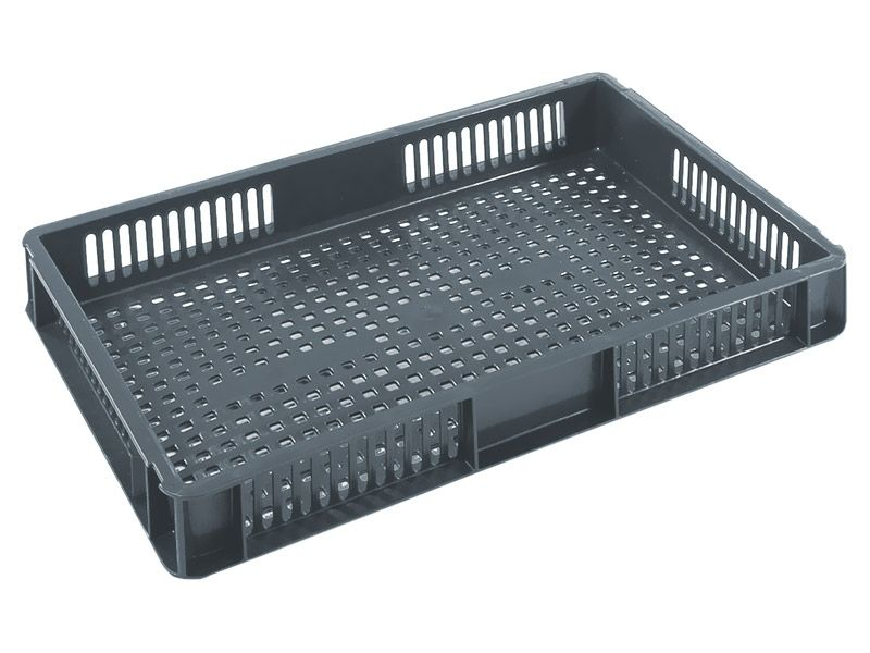 Ventilated Ergonomic Stacking Euro Containers