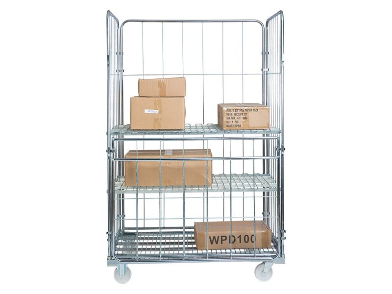 Warehouse Cages on Wheels
