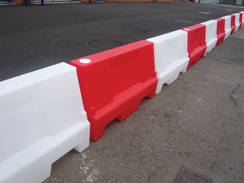 Water or Sand Filled Barriers