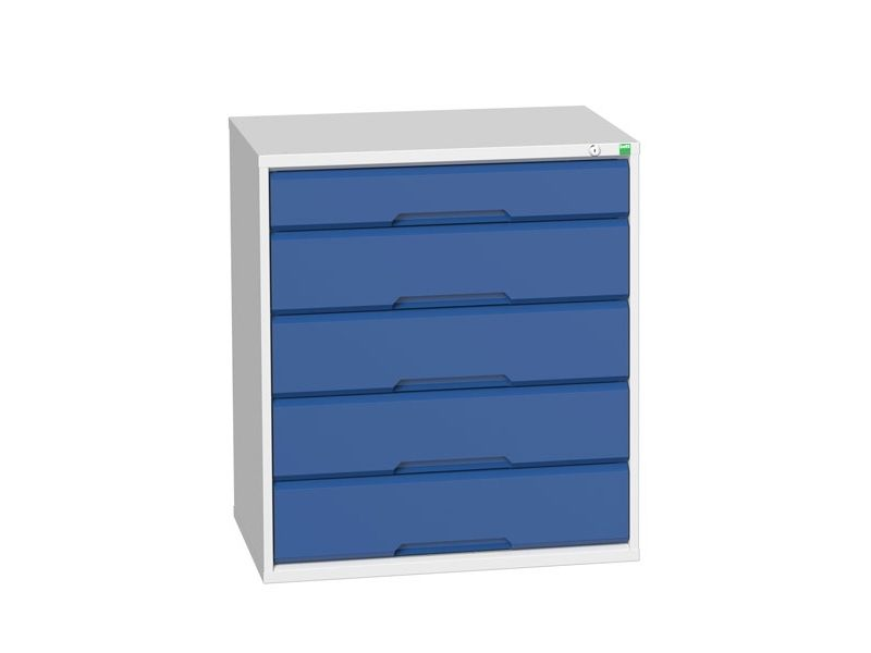 Workshop Cabinet 800mm Wide with 5 Drawers