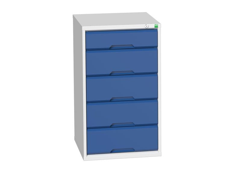Workshop Cabinet 525mm Wide with 5 Drawers