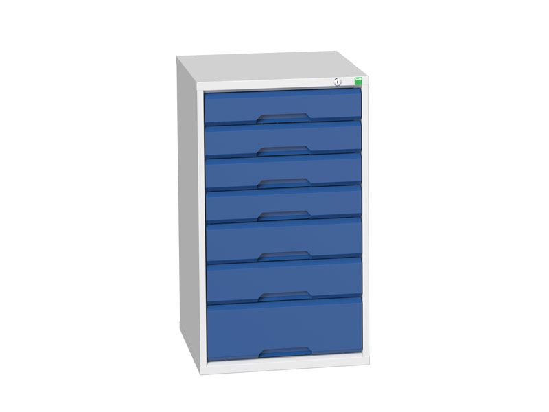 Workshop Cabinet 525mm Wide with 7 Drawers