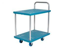 2 Tier Plastic Trolley