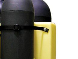 4 Gas Cylinder Poly Stand