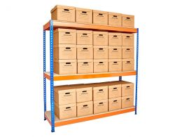Archive Box Storage Shelving