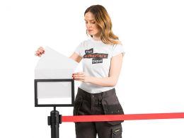 Belt Barrier Signholder